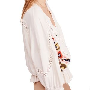 Free People Tops - NEW Free People Serafina Embroidered Top